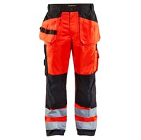 5599 High Vis Rød/Sort