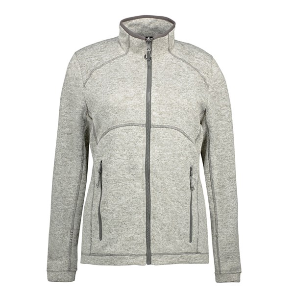 3a69b17a ID Melange Fleece Zip'n'mix Dame